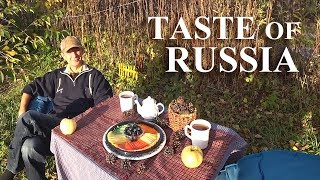 видео: TASTE of RUSSIA: We Taste Colored Russian Cheese / Samovar Tea Party