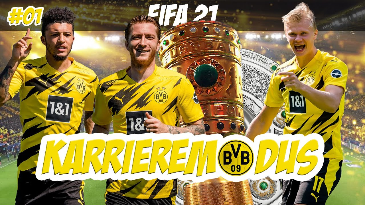 FIFA 21: START KARRIEREMODUS BORUSSIA DORTMUND ⚽️ #01
