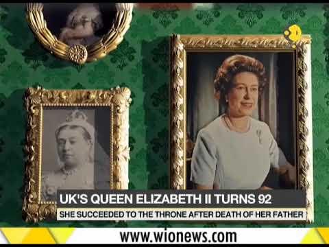 UK's Queen Elizabeth II turns 92