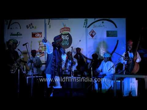 'Bulla ki jaana' being sung by Mame Khan Manganiyar in Mussoorie