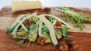 Artichoke, Parmesan, And Walnut Salad Recipe | Crown Restaurant | Food How To