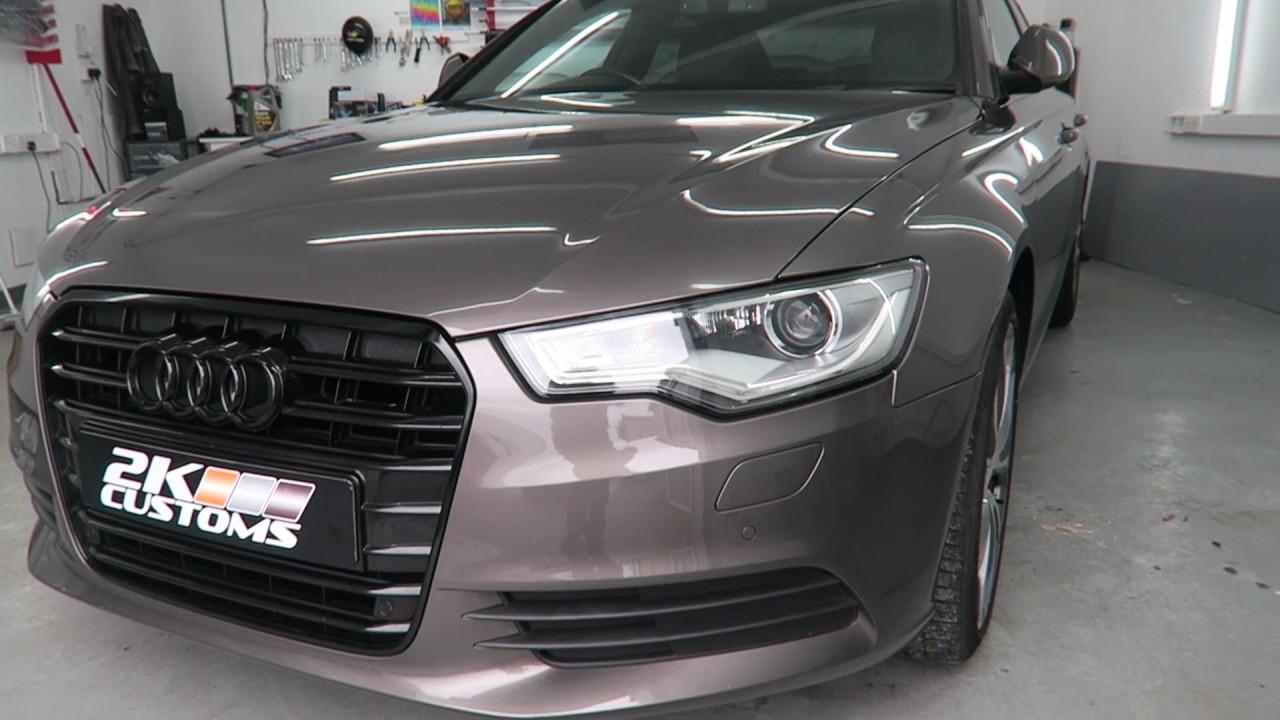Audi A6 C7 - De-Chrome, Window tint & Detailing with Kamikaze ... Black Tinted Audi A on honda accord tinted, audi s5 tinted, audi a3 tinted, nissan altima tinted, jeep grand cherokee tinted, audi a4 avant tinted,