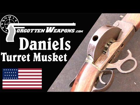 Daniels' Seven-Shot Smoothbore Turret Musket