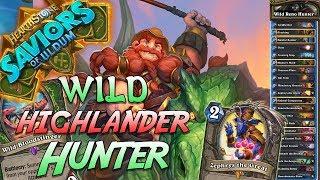 Wild Reno Highlander Hunter Deck   Saviors of Uldum   Hearthstone
