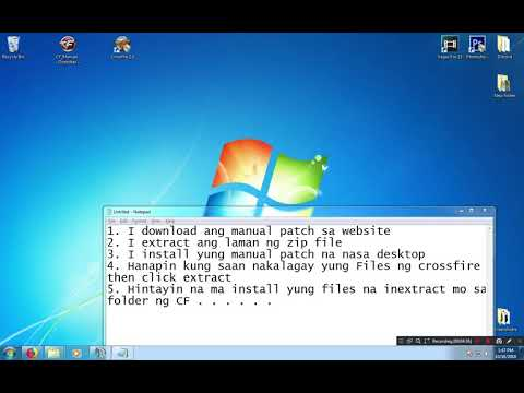 How to install manual patch for Crossfire PH
