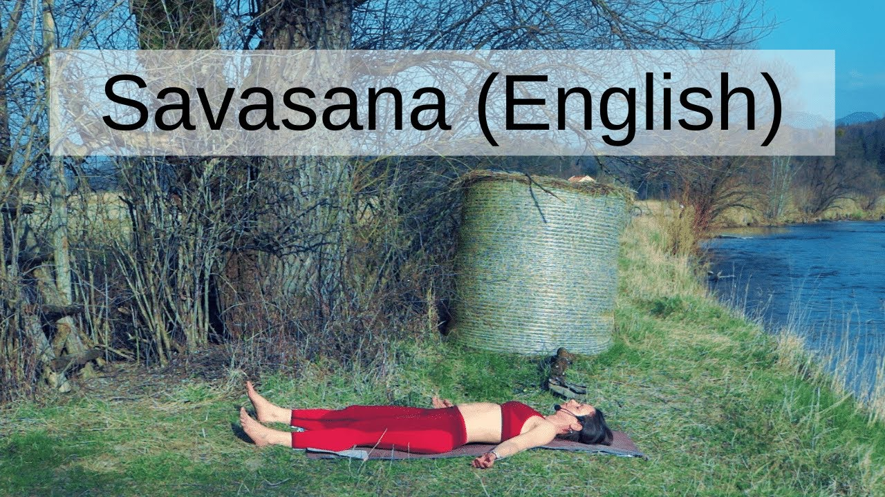 Savasana English