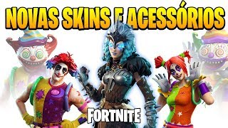 FORTNITE-3 NEW SKINS-WOMEN'S RAGNAROK AND CLOWNS | PATCH v 5.41