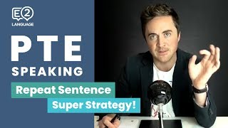 PTE Speaking: Repeat Sentence | SUPER STRATEGY with Jay!