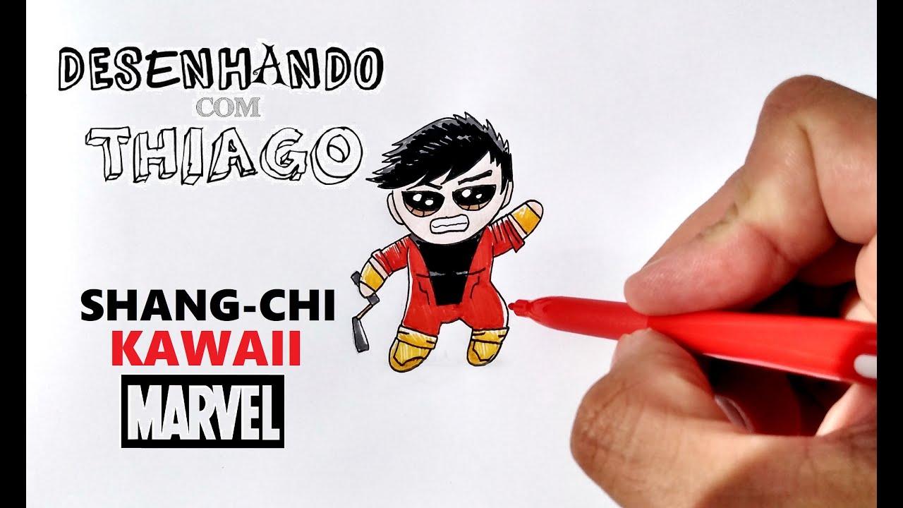 SHANG-CHI - KAWAII (Desenhando com Thiago)