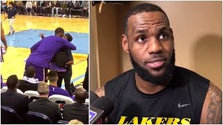 LeBron reveals why he gave his game sho...