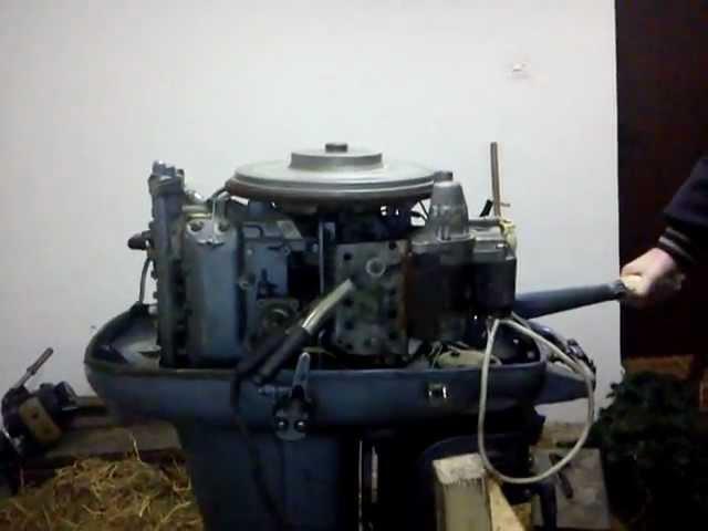 Evinrude 40 hp bigtwin 1965
