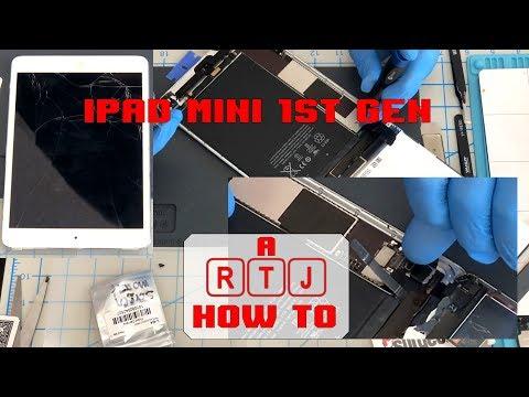 Apple iPad Mini 1 Screen Removal & Frame Clean - A1454 A1432 (iPad Mini 1 2 3)