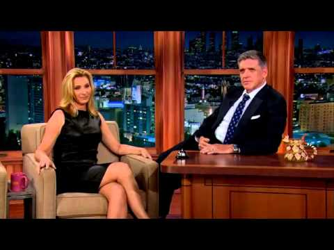 Lisa Kudrow on Craig Ferguson Late Late Show, FULL interview