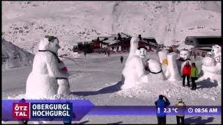 Funny ski resort webcam footage