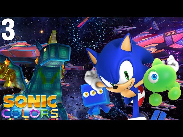 Sonic Colors (Wii) [4K] - Story Playthrough (3/7) - Starlight Carnival