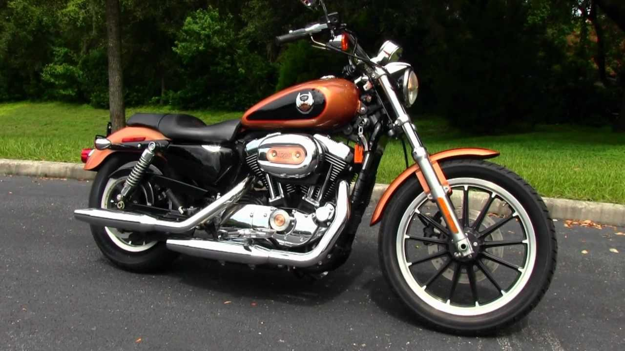 Used 2008 Harley-Davidson Sportster 1200 Low XL1200L - YouTube