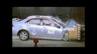 Crash test Honda Accord 2003