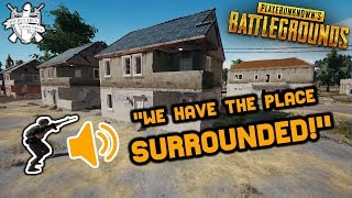 FUNNY VOICE CHAT AND RIDICULOUS FAILS, MOST DYSFUNCTIONAL TEAM EVER - PUBG