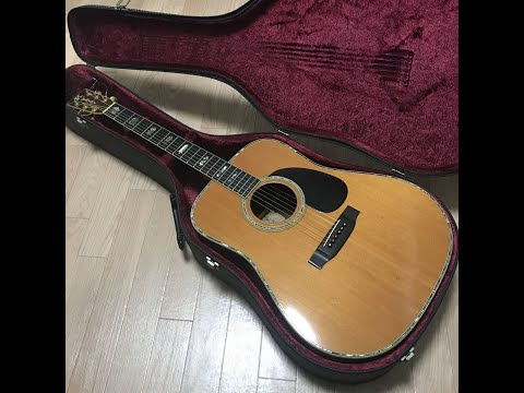 K.Yairi DY-41 Vintage 1976 Acoustic Guitar Solid Rosewood all hand made for sale