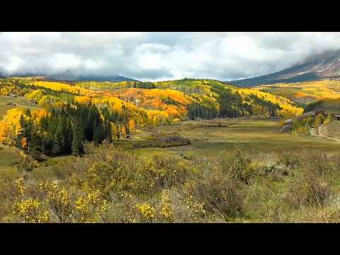 Driving Along the Ohio Valley Road, Gunnison County, Colorado