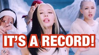 BLACKPINK BREAKS 24 HOUR YOUTUBE RECORD! HOW YOU LIKE THAT IS THE MOST VIEWED VIDEO IN 24 HOURS!