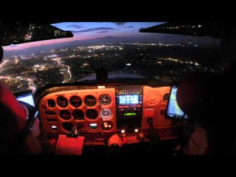 Instrument Rating Flight Training - Practice ILS Approach 28R KMYF