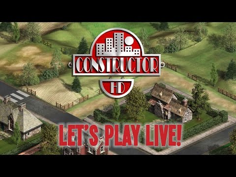 MCM 2015: Let's Play Live: Constructor HD with a Bunch of Undesirables
