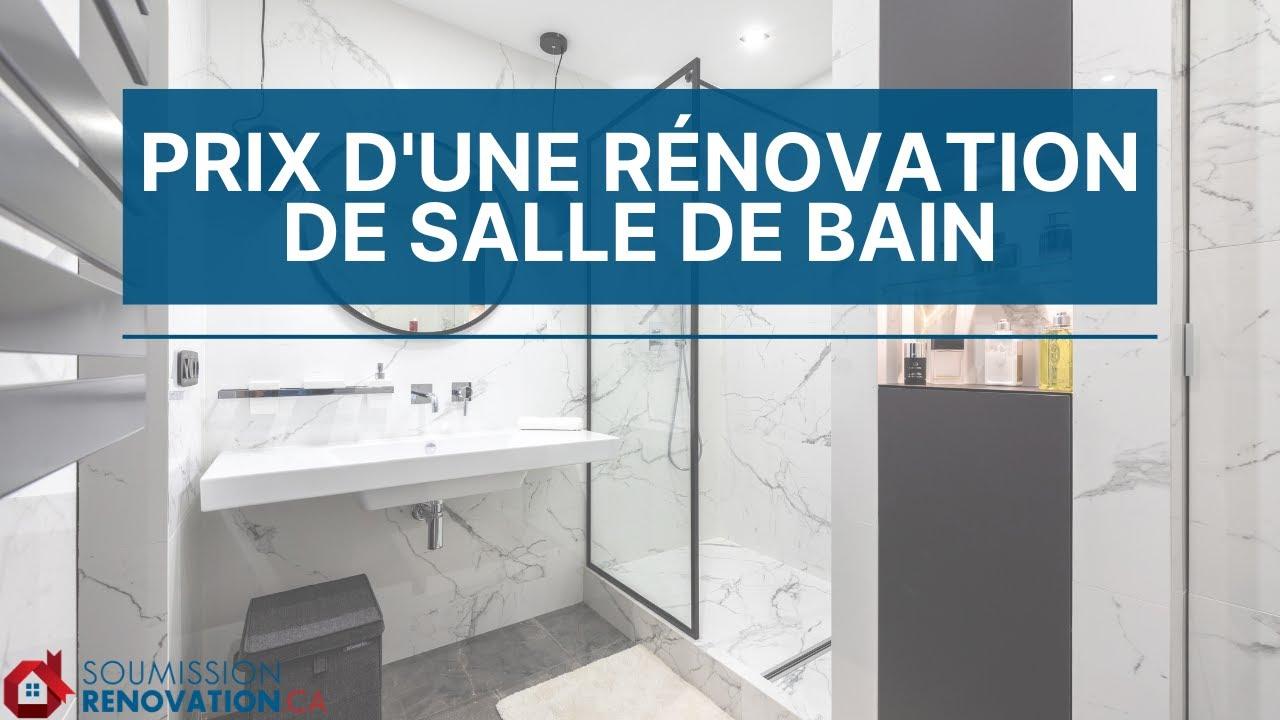 Perfect Renovation Salle De Bains Quebec