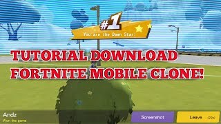 Tutorial Télécharger Fortcraft! - Fortnite Mobile