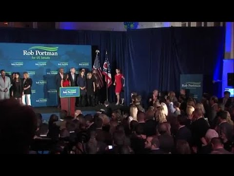 Rob Portman declares victory in re-election to Ohio U.S. Senate seat