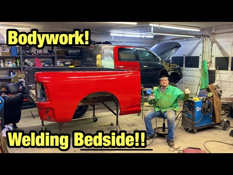 Rebuilding My Wrecked Heavily Modified 2017 Ram Mega Cab Cummins From Salvage Auction Part 4