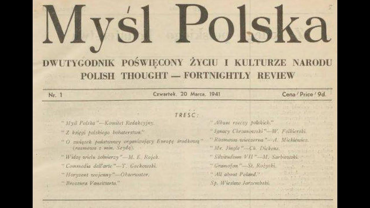 Myśl Polska ma 80 lat