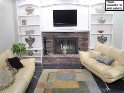 Shelving Around Fireplace Wall Storage Shelves Picture