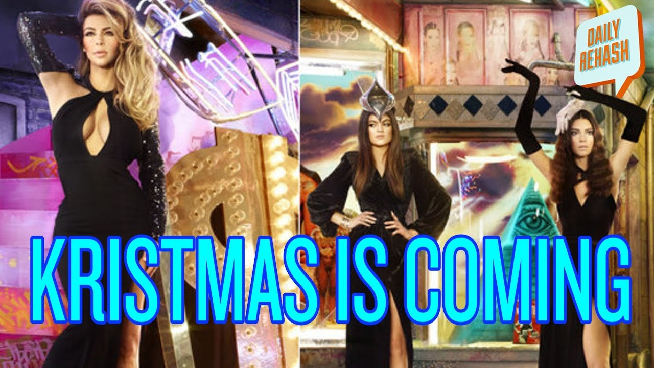 Kardashian Family Christmas Card (w/ Christen Gerhart) | DAILY ...