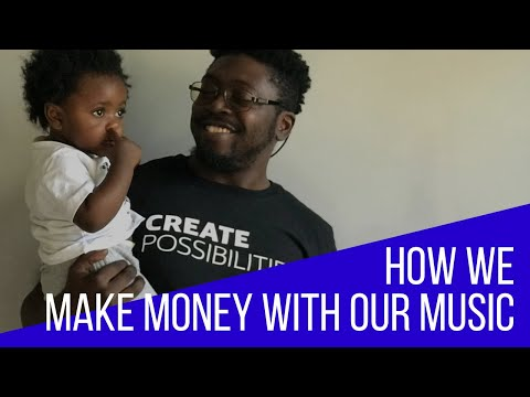 HOW WE MAKE MONEY ONLINE WITH MUSIC SINGING & SONGWRITING
