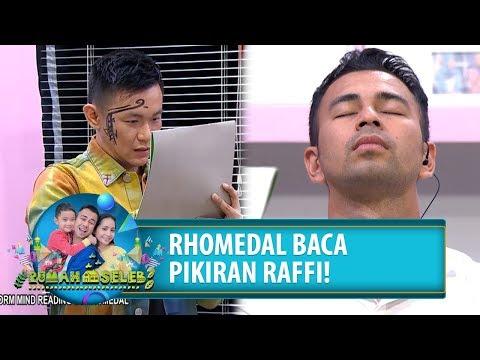 RHOMEDAL BACA PIKIRAN RAFFI!! - Rumah Seleb (28/8) PART 7