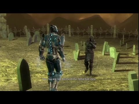 Mortal Kombat 9 - Lin Kuei Brothers Fight (Kuai Liang vs Bi-Han) HD