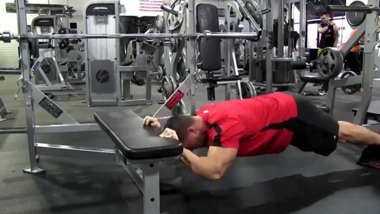 Bodyweight Tricep Extension Youtube