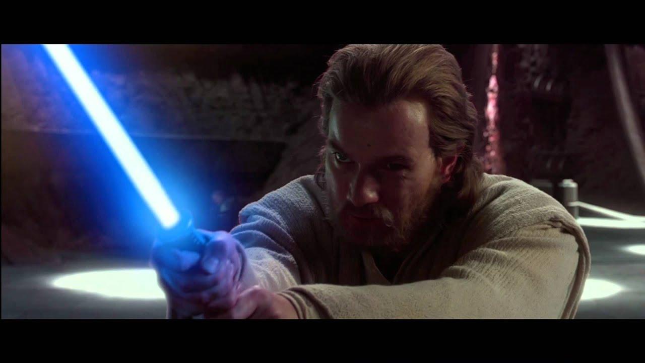 Anakin And Obi-Wan VS Count Dooku (1080p)   FunnyDog.TV