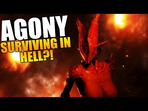 Agony Game - THE ENDING?! SURVIVING IN HELL, KICKSTARTER DEMO GAMEPLAY - Survival Horror Gameplay