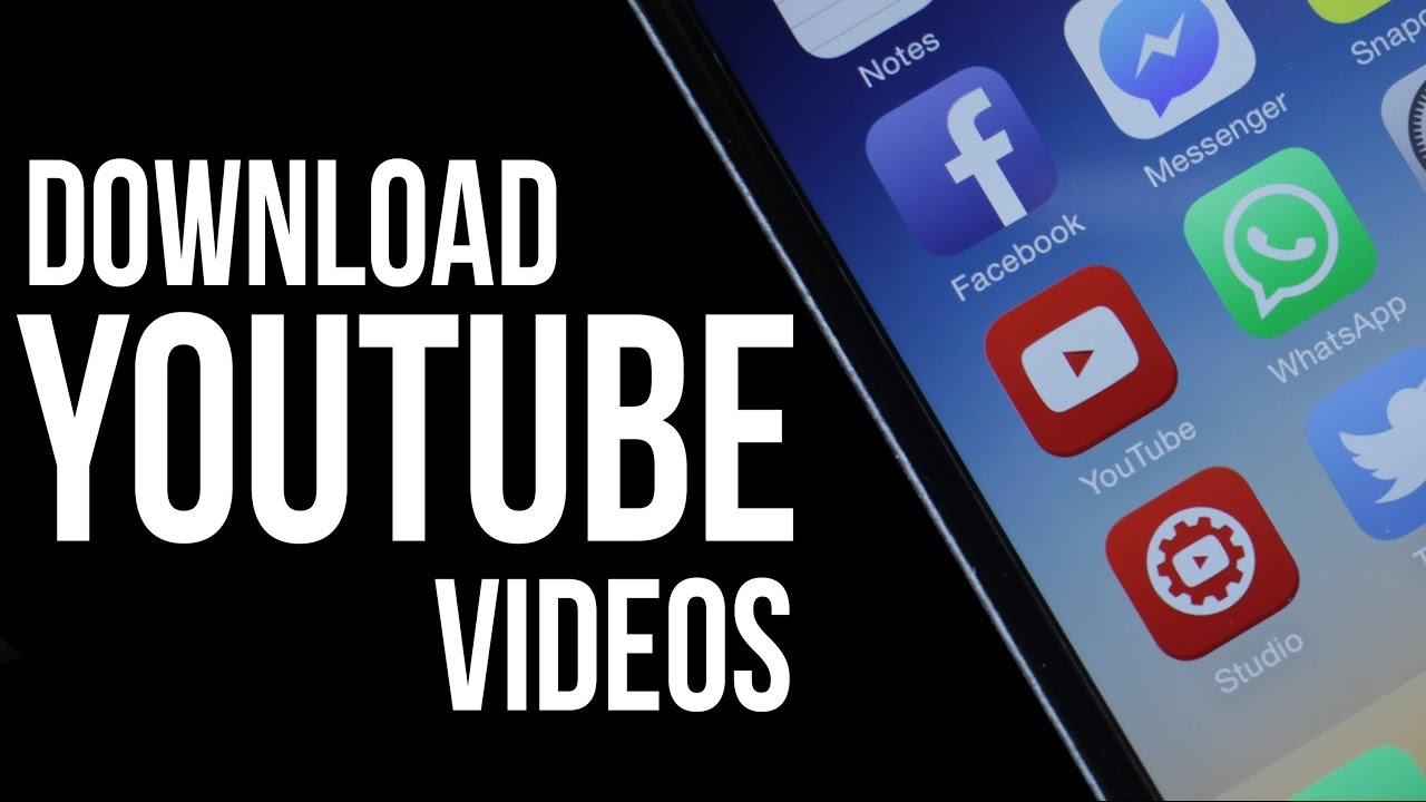 Download free music to phone from youtube videos on iphone using