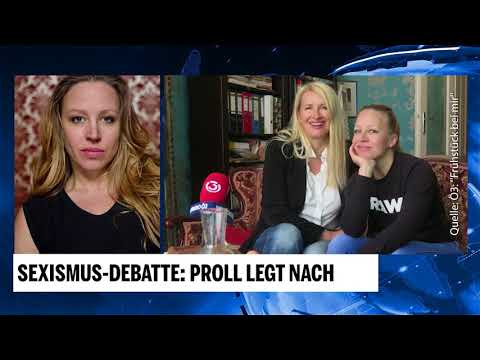 SexismusDebatte: Nina Proll legt nach
