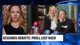 Sexismus-Debatte: Nina Proll legt nach