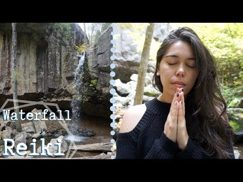 Waterfall Reiki (Healing Energy & Calm Water Nature Sounds for Sleep and Relaxation)