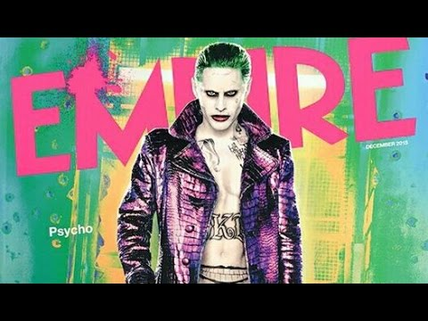 New Image Of The Jared Leto Joker And Suicide Squad Stills Hit Empire Magazine
