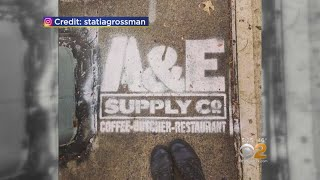 Advertising Or Vandalism? Brooklyn Eatery Uses Public Property To Spread Word It's Open