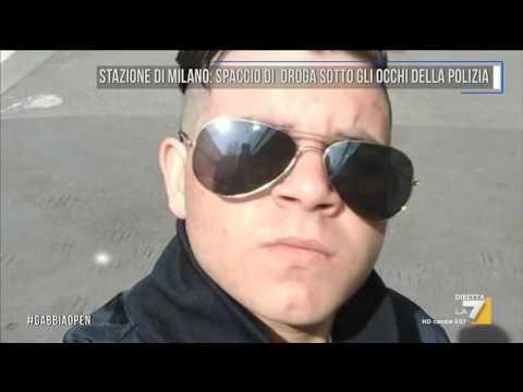 Stazione di Milano, spaccio di droga sotto gli occhi della Polizia