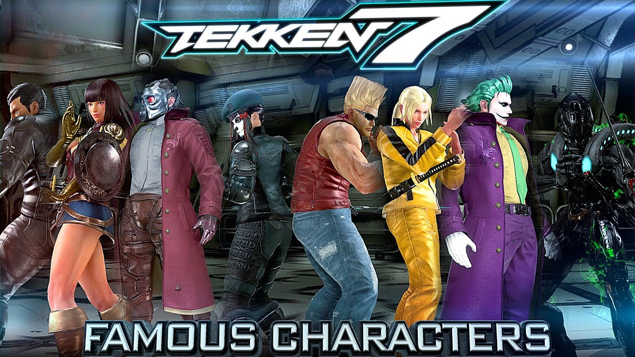 Famous Characters Tekken 7 Customization Game Movie