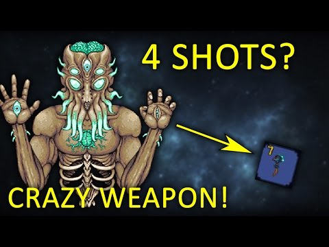 4 Shotting Moon Lord? - Terraria Thorium Mod 1.3 (99k Damage Weapon!)