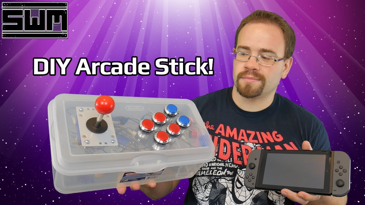 Let's Build An Arcade Stick For The Nintendo Switch And Your PC!